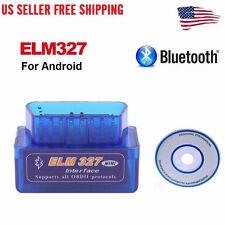 Super Mini ELM327 V2.1 OBD2 II Bluetooth Diagnostic Car Auto Interface Scanner M