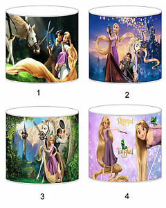 Tangled Rapunzel Lampshade Ideal To Match Bedding Duvets Curtains Cushion Covers
