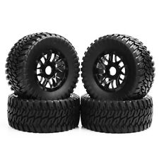 4X Tires Wheel Rim 1/10 RC Short Course Truck 17mm Hex For TRAXXAS SLASH HSP