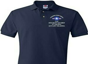 58TH AIRLIFT SQUADRON* ALTUS AFB-OKLAHOMA EMBROIDERED POLO SHIRT/SWEAT/JACKET.