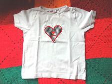 s.Oliver T-Shirt mit Herzmotiv bestickt Gr 104