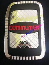 FOR TOYOTA HIACE COMMUTER 2005-2013 CHROME FUEL CAP OIL COVER TRIM V.4