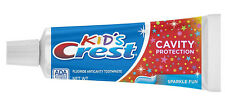 (3-PK) Kid's Crest Cavity Protection SPARKLE FUN Toothpaste 0.85 oz (24g) Travel