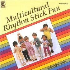 MULTICULTURAL RHYTHM STICK FUN BY KIMBO CD NEW SEALED