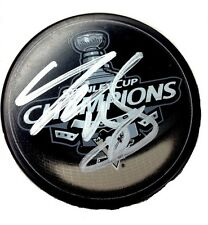 TYLER KENNEDY SIGNED PITTSBURGH PENGUINS STANLEY CUP PUCK