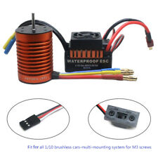 9T 4370KV Brushless Motor   60A ESC Speed Controller Combo ME720 for 1/10 RC Car