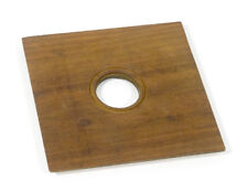 6x6 inch (152x152mm) Lens Board with a 38mm Opening