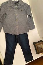 French Toast Long Sleeve Top Sz 3T/ Wrangler Jeans Sz 2T