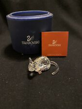 Swarovski Crystal Figurine Zodiac Rat Brand New In Box W/Coa Free Shipping
