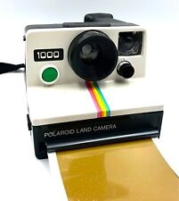 Polaroid 1000 Land Camera, Using SX-70 Film - GREEN Button camera - Working