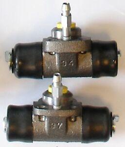 VW POLO 9N 1.2 - 2 Radbremszylinder Bremszylinder hinten für die Hinterachse