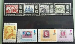 ST HELENA  STAMPS.  8  .MISC SELECTION.. VERY FINE MINT/NHDATED  1967-  79 LOT2