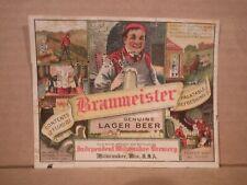 New listing Braumeister Irtp 3.2% 12 Oz. Beer Label-Ind Milwaukee Brg.,Milwaukee,Wis 311-30