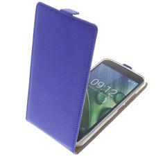 Tasche für Acer Liquid Zest Plus FlipStyle Handytasche Schutz Hülle Flip Blau