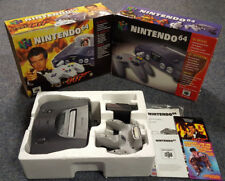 BOXED 007 GOLDENEYE NINTENDO 64 N64 COMPLETE CONSOLE SETUP TESTED FREE UK P&P