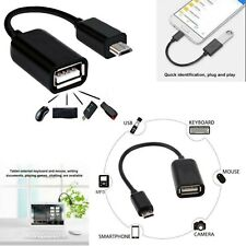 Micro USB Male host to USB Female OTG Adapter Cable For Android Phones Tablet PC