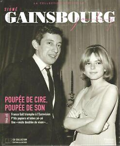 SERGE GAINSBOURG - POUPEE DE CIRE POUPEE .. - LA COLLECTION OFFICIELLE 1964 /65
