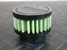 """S-Max Green Filter USA Breather Filter 1 5/8"""" ID, 2.50"""" H, 3.00"""" OD"""