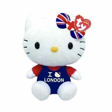 Hello kitty I Love London Ty Beanie Plüschtier Spielzeug