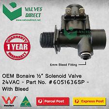 "OEM Bonaire 1/2"" Solenoid Valve 24VAC (Part No. 6051636SP) - With Bleed"