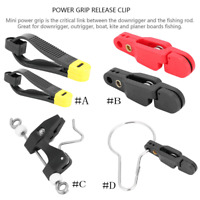 Power Line Clip Snap Weight Release Clip for Planer Board, Downrigger, Outrigger