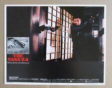 THE YAKUZA MOVIE POSTER LOBBY CARD #4 1975 ORIGINAL 11x14 ROBERT MITCHUM