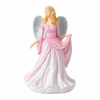 "Royal Doulton Watchful Angel 7"" Bone China Figurine  Infinite Love NEW BOX"