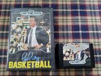 Pat Riley's Basketball (Sega Genesis, 1990) - Cartridge With Case. No Manual