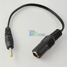 18cm DC Power Cable Connector 2.5 x 0.7mm Male to 5.5 x 2.1mm Female Convertor