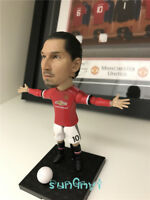 Zlatan Ibrahimović Action Figure Red Devils Statue Football Souvenirs 4.8'' New