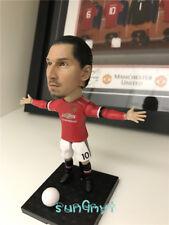 Zlatan Ibrahimović Action Figure Red Devils Statue Football Souvenirs 4.8'' New