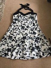 Debenhams John Rocha Ladies Stunning Halterneck Dress Size 20 Bnwt