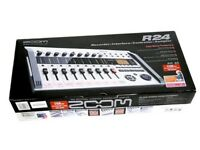 ZOOM R24 Multitrack Recorder with Tracking IMPORT New From Japan DHL express
