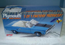 GMP 1/18 1970 Plymouth 426 Hemi 4 Speed Road Runner Convertible B5 Blue #1803114