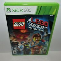 The Lego Movie Video Game (Microsoft Xbox 360, 2014) Complete Tested & Working