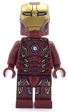 LEGO IRON MAN MINIFIG MARK 45 RARE SUPER HERO TONY STARK AVENGERS AGE OF ULTRON