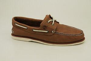 Timberland Classic Barco Zapatos 2-Eye de Vela Cerrado Hombre