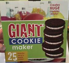 GIANT COOKIE MAKER - CREATE HUGE COOKIES 23.5CM DIAMETER  AND 4CM HIGHT