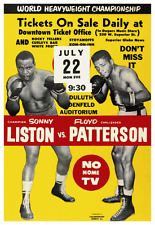 1963 Floyd Patterson vs Sonny Liston  - 2nd attempt  - Boxing CHAMPIONSHIP Match