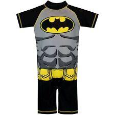 Batman Surfsuit | Kids DC Comics Swimsuit | Boys Batman One-Piece Swimwear