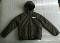Adidas Boy's Black Kaval Jacket Puffer Coat Size 11-12 Years Good Used Condition