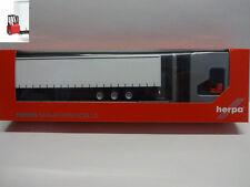 Herpa 076784 Schmitz Gardinenplanenauflieger 3-Achs mit Mitnahmestapler 1:87 Neu