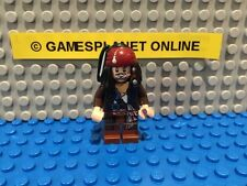 Lego Pirates of The Caribbean Captain Jack Sparrow Minifigure