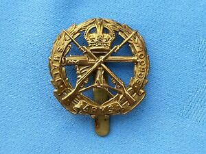 The Small Arms School Corp cap badge.