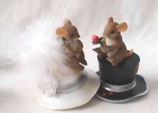 """Charming Tails """"Hat's Off To Love"""" (Mouse) [Gold Signature Series][LtdEd][Retir]"""