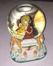 Disney Store - Beauty and the Beast - Musical Christmas Holiday Snowglobe - 1994