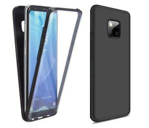 For Huawei Mate 20 Pro Black Full Body Case Front Back 360 Protection Slim Cover