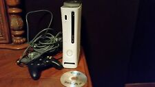Modded Microsoft Xbox 360 Core System Launch Edition White Console