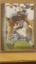 Bishop Sankey 2015 Topps Field Access Autograph Card Tennessee Running back