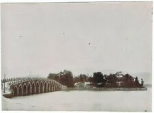 Old Chinese Photo with Bridge, South China